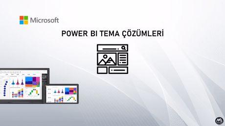 Power BI'da Rapor Tema Çözümleri